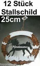 12 x Stall Shield Door Wreath Horse Riding Stables Deco eingangstüre Stock Lot