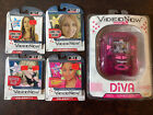 VideoNow Color FX Personal Video Player Diva Pink + 4 Discs Duff Spears Raven