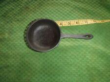 Vintage 3 legged Cast Iron Spider Pot marked 1-2