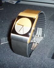 Jacob Jensen 513 watch Gold and Silver Titanium Band