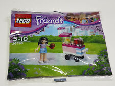 Brand New Lego - Emma's Cupcake Stall (2016) - Friends - 30396 Polybag