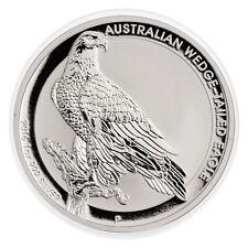 2016 $1 Australia Wedge Tailed Eagle Silver Dollar Mint State GEM BU, In Capsule