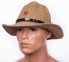 21076e5e Russian USSR Soviet Red Army SOLDIER Uniform Afganka cap hat Panama  Afghanistan