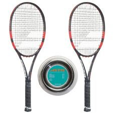 Babolat Pure Strike 100 16x19 x 2 + Astis 200 m-Rolle - Griff L0