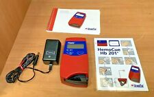 Hemocue Hb 201 Analyzer Withac Power Supply And Manual Free Shipping