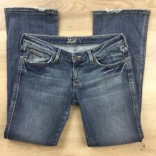 Mavi Olivia Low Rise Straight Leg Women's Jeans Sz 27/32 Actual W32 hemmed (AM2)