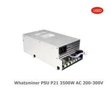 WHATSMINER MINER M30S M31S POWER SUPPY P21D AC 200V-300V