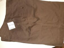Jones New York SHORT Size 10 Chocolate Brown  NWT