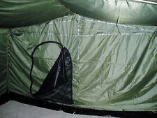 Six Man Army Tent 6 Personen Large Tent Team Bw Federal Armed Forces Olive New