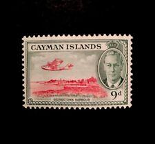 Cayman Islands SG 143 9d 1950 KGVI M/M