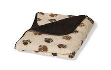 Fleece Paw Beige/brown Fleece Blanket Small 63x76cm