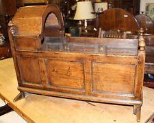 1850s Oak Cradle
