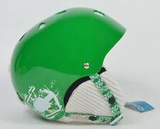 Capix JR. SHORTY SNOW HELMET Youth Snowboard Ski Helmet Green Gloss NEW
