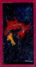 Moderne Kunst Domann geb. Hesne, 20. Jahrhundert  /  Schwarz und Rot   xxxx