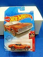 2020 Hot Wheels Case P Kroger Exclusive '67 Camaro Brown  HW Flames #4/10
