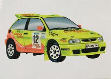 SEAT Ibiza Kit Car Rally Sticker 1997 98 World British Championship Cupra WRC