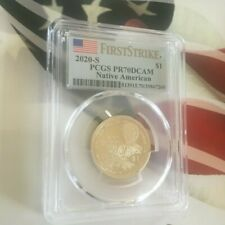 2020 S SACAGAWEA $1 NATIVE AMERICAN PCGS PR70DCAM FIRSTSTRIKE