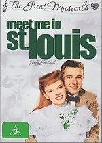 Meet Me in St. Louis -The Great Musicals NEW DVD Judy Garland Region 4 Australia