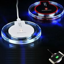 Qi Wireless Fast Charger Dock Charging Pad For IPHONE & SAMSUNG
