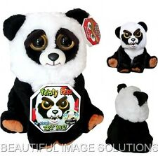 FEISTY PETS Stuffed Panda Bear Turns Feisty GROWLS with Squeeze BEST SELLING TOY