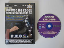 HARRY POTTER ET LA CHAMBRE DES SECRETS - PLAYSTATION 2 - CD CODES ACTION REPLAY