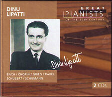 DINU LIPATTI GREAT PIANISTS OF THE 20th CENTURY 2cd CHOPIN GRIEG Mozart Schumann