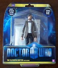 DOCTOR WHO. THE ELEVENTH DOCTOR WITH BEARD ACTION FIGURE. SERIES SIX. NOC