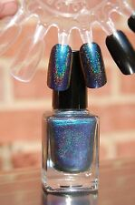 Multichrome Holographic Spectraflair Topcoat ~ 13.3 ml.  #M2 Cyan/Purple