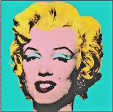 Pop Art Marilyn Monroe Handmade DIGITAL Counted Cross-Stitch Pattern Needlepoint