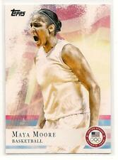 Candace Parker 2012 Topps USA Olympic USA Basketball GOLD Medal Winner