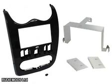 Dacia Duster 2010-2012 Black Double Din Car Stereo Fitting Kit Facia 23DC01