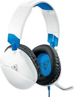 Turtle Beach RECON 70 White Headband Gaming Headsets PS4 Playstation