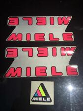 Pink Miele Bicycle Bike Decal Decals Sticker Stickers Set Vintage Not Remade!