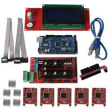 3D Printer Kit Mega2560 2004LCD+R3+A4988+RAMPS 1.4 Controller for Arduino Reprap