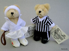 Ganz Wee Bear Village Plush Teddy x 2 Cleats Soccer 5in Wimbearton Tennis 2001