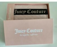 juicy couture Pink Wallet Clutch Bag White Charms
