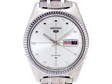 Seiko 5 5126-8030 Coin Edge Bezel Automatic 1967 23 Jewels OH Men's Watch F/S