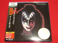 GENE SIMMONS - SELF TITLED - JAPAN MINI LP CD - KISS UICY-93530