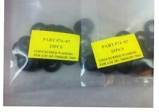 LOT 25 DP7407 RUBBER OIL DRAIN PLUG CRUSH WASHERS GASKETS 12MM