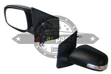 TOYOTA YARIS SEDAN 1/2006-2011 LEFT SIDE DOOR MIRROR ELECTRIC BLACK /INDICATOR