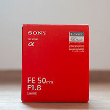Sony Alpha FE 50mm F1.8 Lens SEL50F18F
