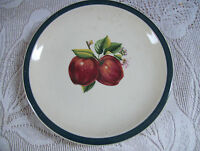 """China Pearl Casuals 7 1/2"""" Side Plates Apples Pattern"""
