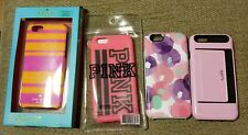LOT/4 IPHONE 6 6S 7 8 PHONE CASES KATE SPADE MODOL PINK