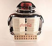 Coca Cola Brand Jukebox Cookie Jar in Box