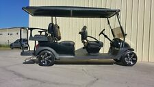CLUB CAR PRECEDENT SIX PASSENGER 48 VOLT CUSTOM LIMO GOLF CART NEW BATTERIES