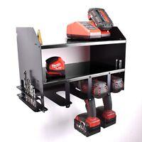 Black & Decker Drill Driver Tool Rack Shelving Storage Workshop Organiser Impact
