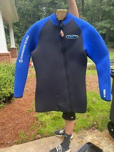 Sherwood scuba wetsuit 6.55mm XL