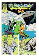 Gumby 3-D #2, Dec. 1986, near mint : Blackthorne Comics; boarded & bagged