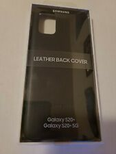 SAMSUNG Galaxy S20 / S20+ / S20 ULTRA Official Leather Back Cover Case NEW