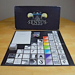 Sensus - Super Rare Board Game - 1988